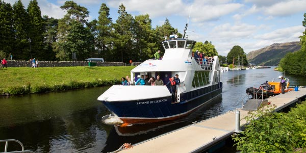 A new boat named The Legend of Loch Ness